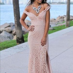 Long evening gown/ prom dress